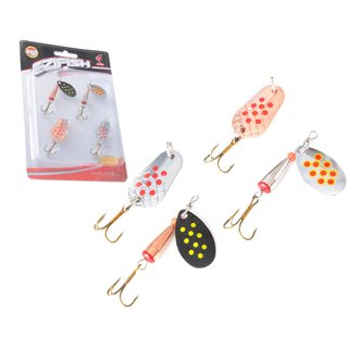 4x Blinker Spinner Set